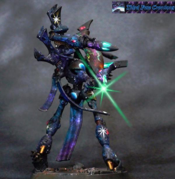 Airbrush Eldar Warhammer 40 000 Fantasy