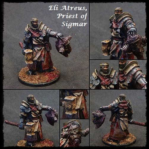 Age Of Sigmar, Devoted Of Sigmar, Non-Metallic Metal, Priest, Sigmar, Warhammer Fantasy, Warrior Priest