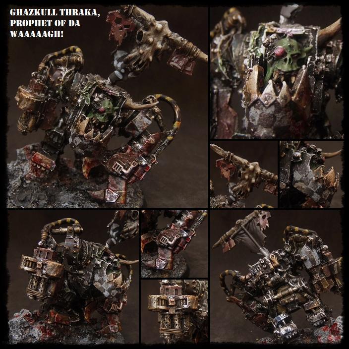 Armageddon, Ghazkull Thraka, Goff, Mega Armor, Orks, Warboss, Warhammer 40,000