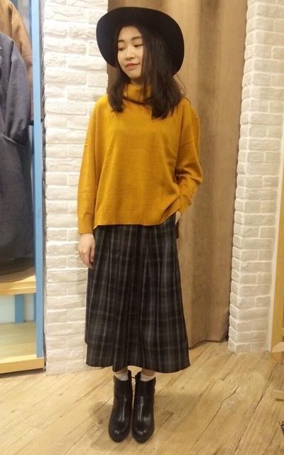 穿搭主題:高領X寬褲 by Wendy Yen | Dappei