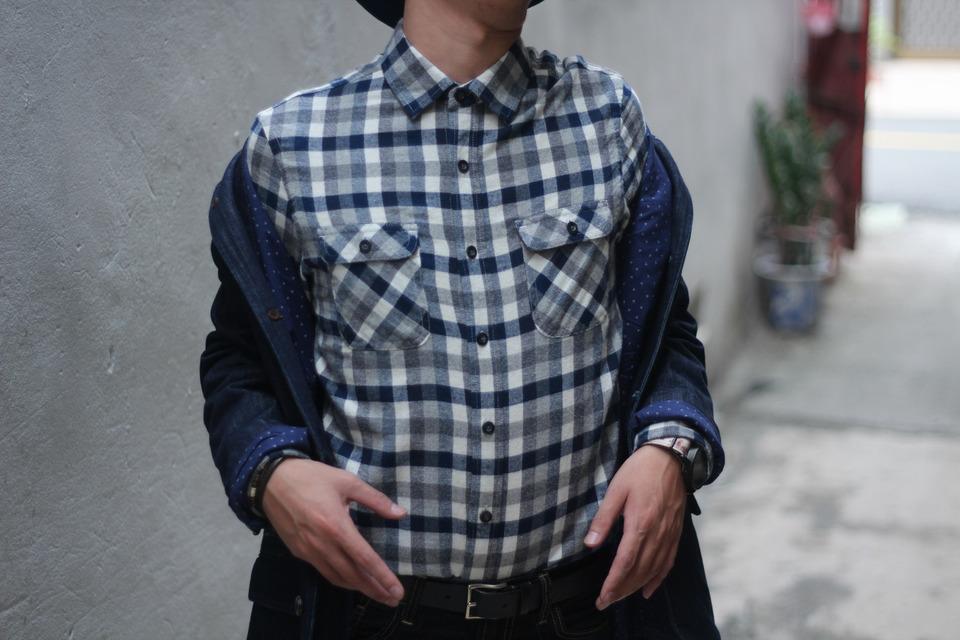 NET格紋襯衫的穿搭資訊 | Dappei
