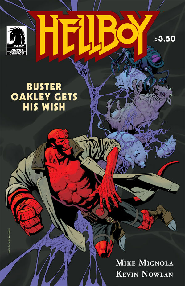 Hellboy: Buster Oakley Gets His Wish Cover