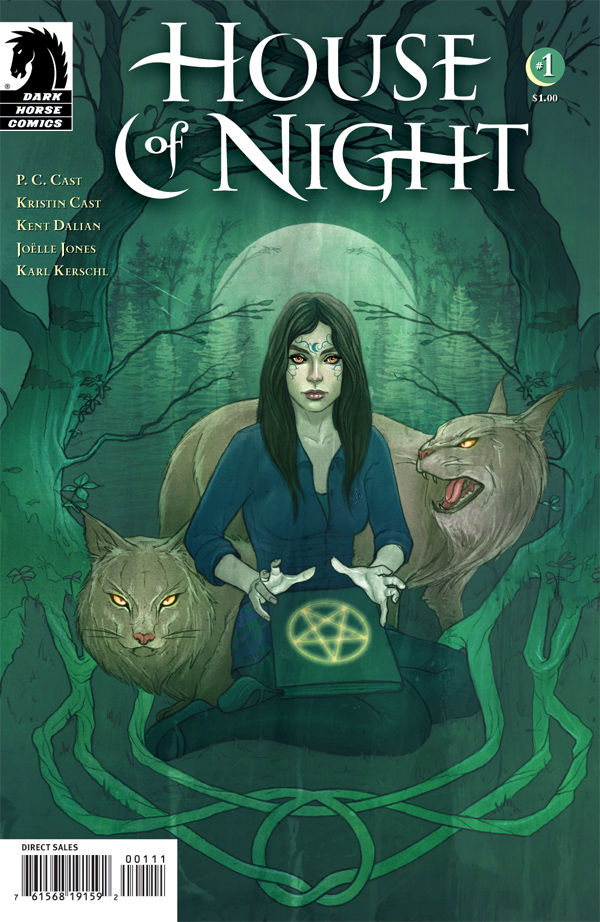 House of Night #1 (cover art by Jenny Frison)