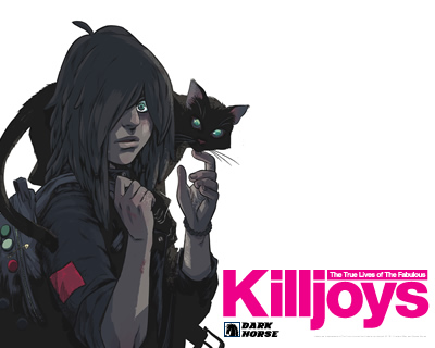 Killjoys issue one | Alternative Press
