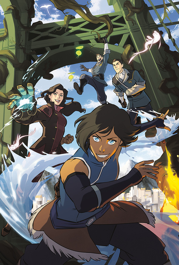 Image result for legend of korra comic