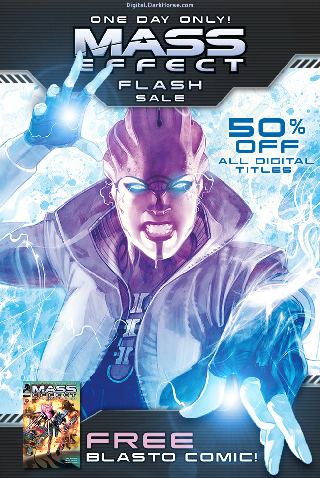Mass Effect Flash sale Today Only