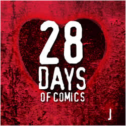 "28_J Today's 28 Days of Comics - Brought to You by the Letter ""J"""