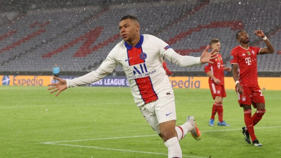 'I'm not here to hide' – PSG star Mbappe delighted with double victory in Champions League match at Bayern Munich