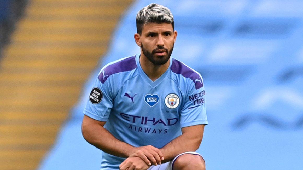 Ngoại hạng Anh) Aguero đối mặt nguy cơ chia tay mùa giải vì chấn thương |  Goal.com