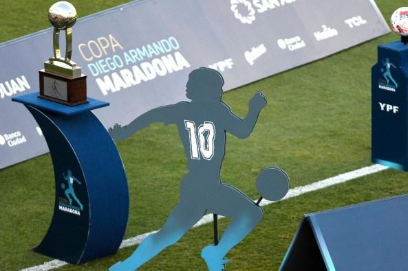 Por qué la Copa Liga Profesional no podrá volver a llamarse Copa Diego  Maradona | Goal.com