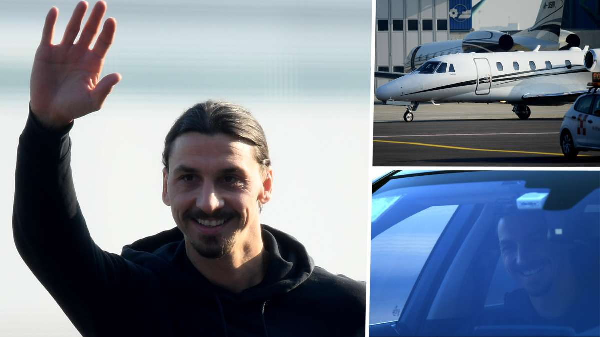 I M Back Ibrahimovic Delighted To Be Returning Home To Milan As He Undergoes Medical Goal Com