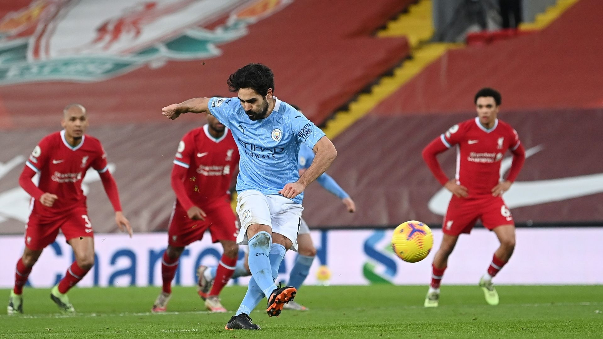 The Summary Of Liverpool Vs Manchester City Of The Premier League 2020 2021 Video Goals And Statistics En24 World