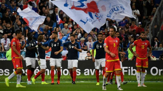France Andorra UEFA Euro Qualifiers 2020