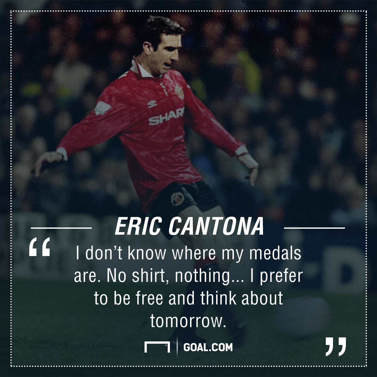 Eric cantona gave a cryptic speech after being recognised at the #ucldrawhit 'subscribe' above to ensure you never miss a video from the bt. What Ever Happened To Eric Cantona The Man Utd Legend Who Traded Kung Fu Kicks For Movie Stardom Goal Com