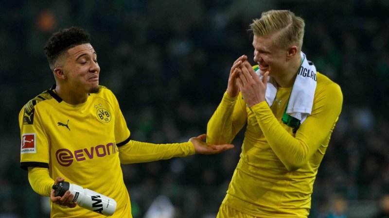 Dortmund'dan Haaland ve Sancho için transfer açıklaması | Goal.com