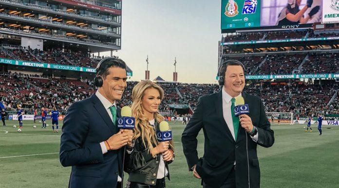 Televisa Deportes Oswaldo Sánchez Irina Baeva Toño de Valdes 050418