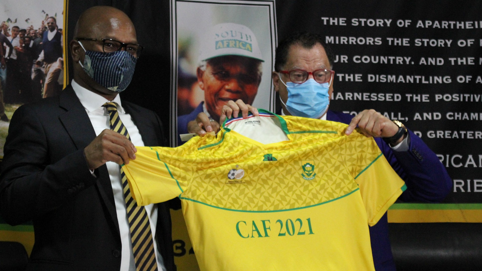 Why Mamelodi Sundowns president Motsepe is the right man to lead Caf – Safa boss Jordaan