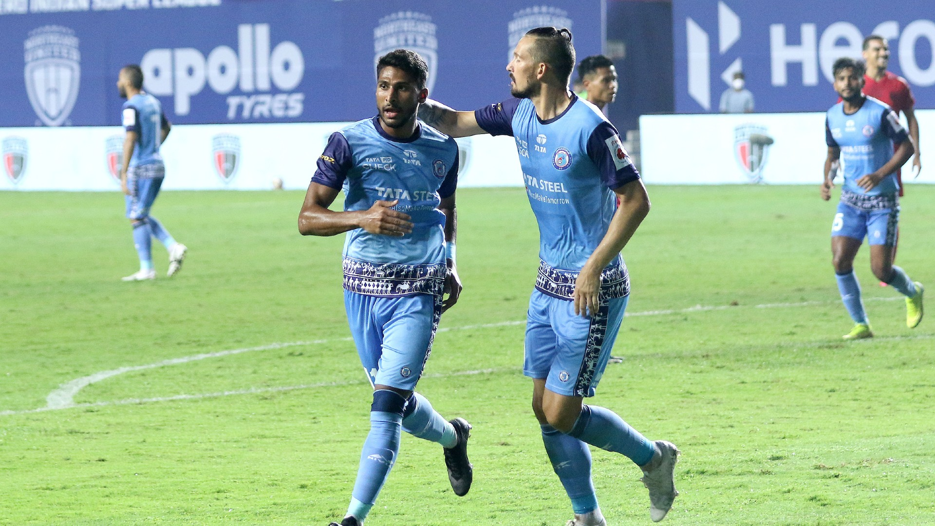 Jamshedpur FC earn a key win over NorthEast United but needs to display more quality!