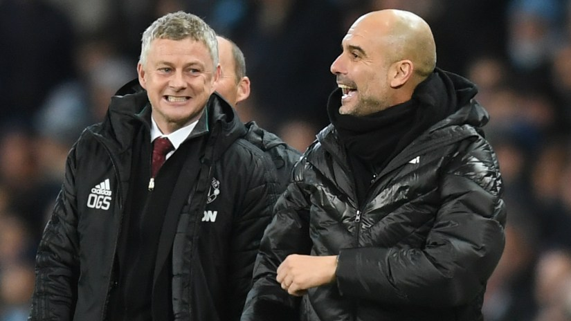 Man Utd one of the best teams when they run - Guardiola 1