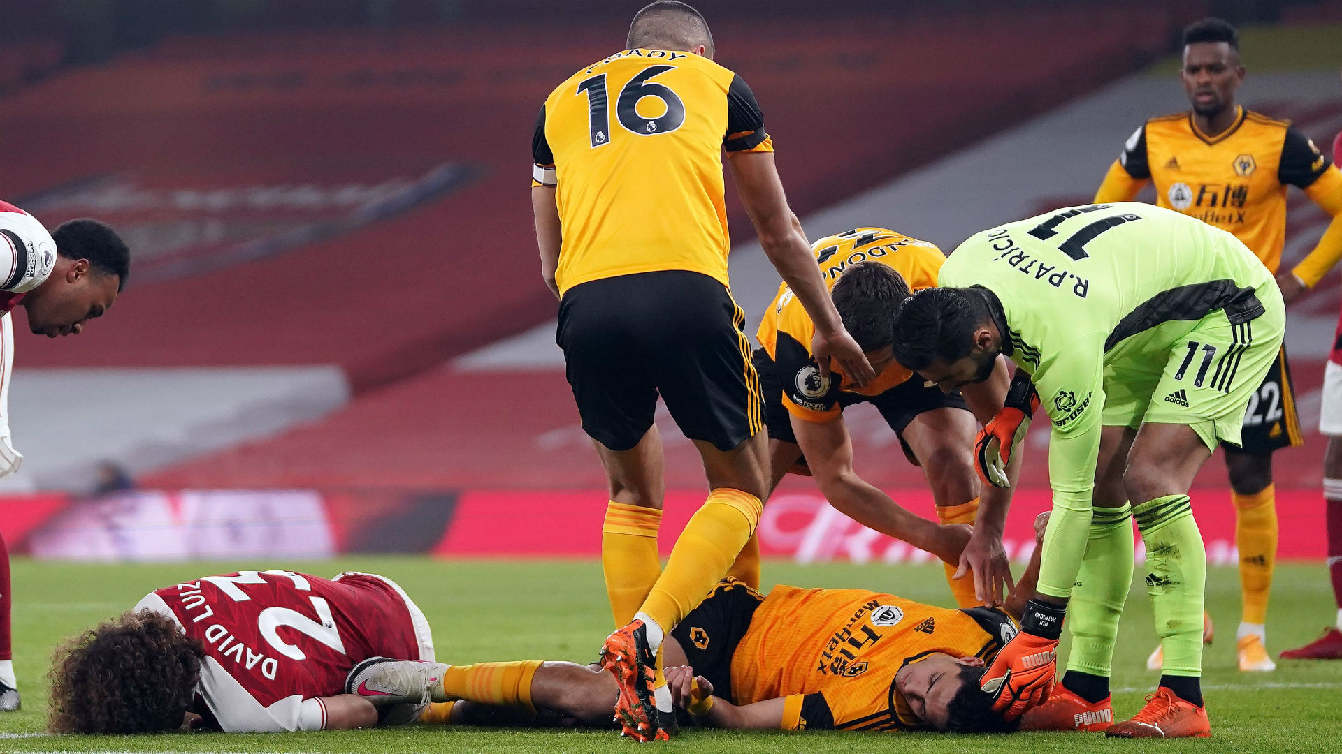 Jimenez's 'horrible' head clash distressed Wolves captain Coady