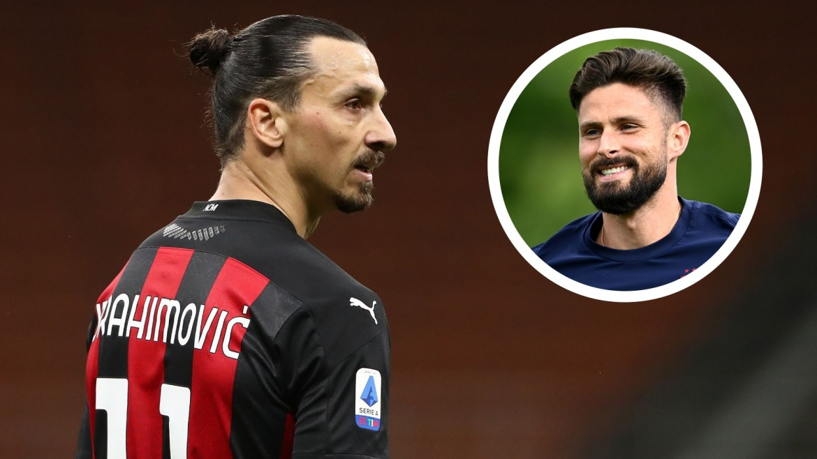 There are many are kings but there is only one god' - Ibrahimovic addresses  Giroud's links to AC Milan | Goal.com