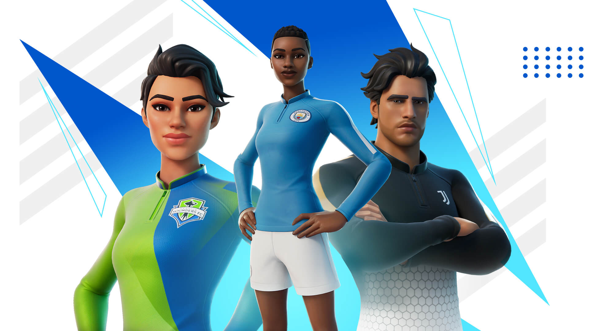 Fortnite football update sees Pele Cup tournament and Man City, Juventus, LAFC among clubs added to game