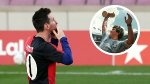 Messi supported Newell's Old Boys return from Burgos – but only after signing a new deal in Barcelona