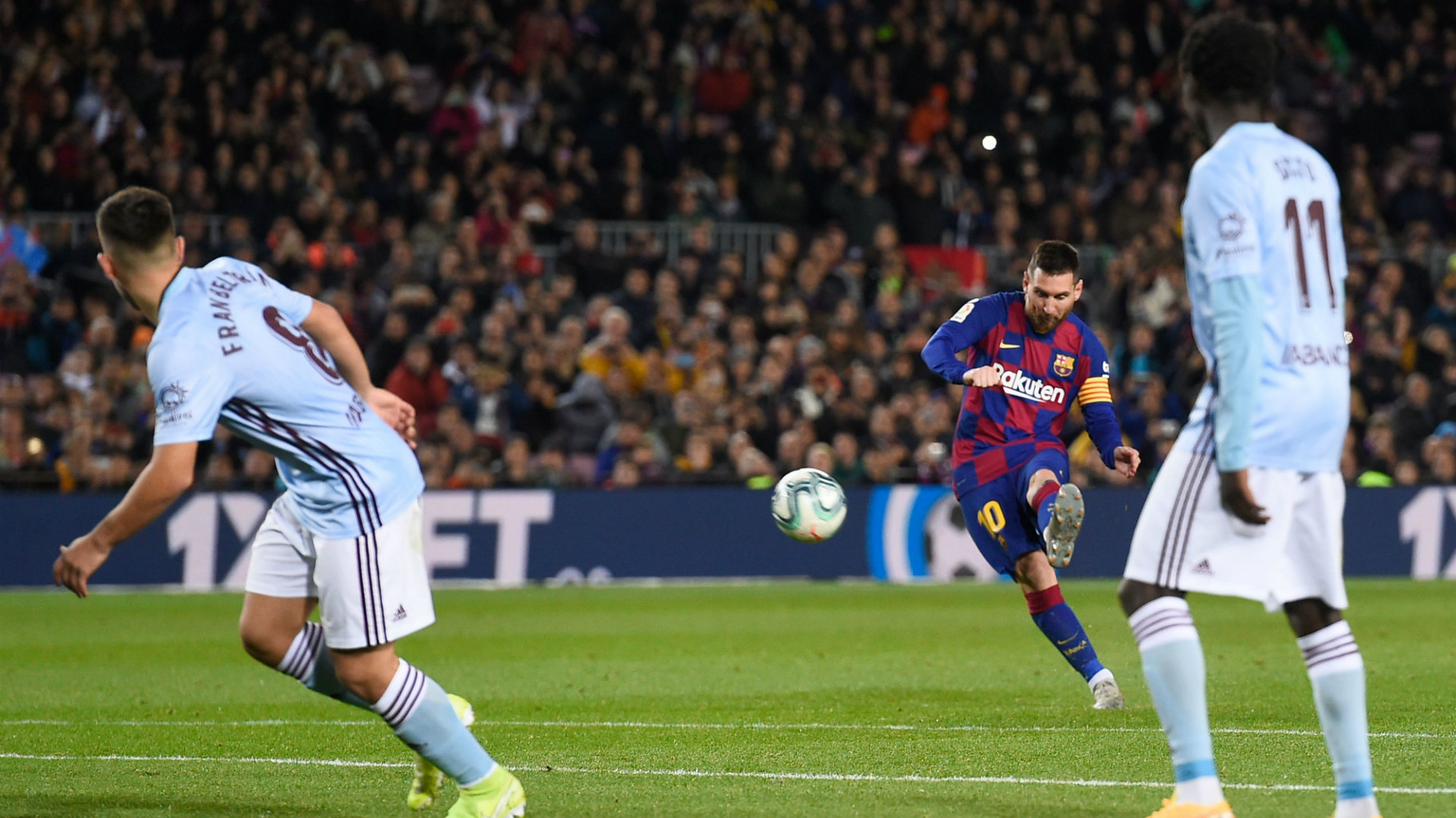 Messi The Set Piece King As Barcelona Again Rely On