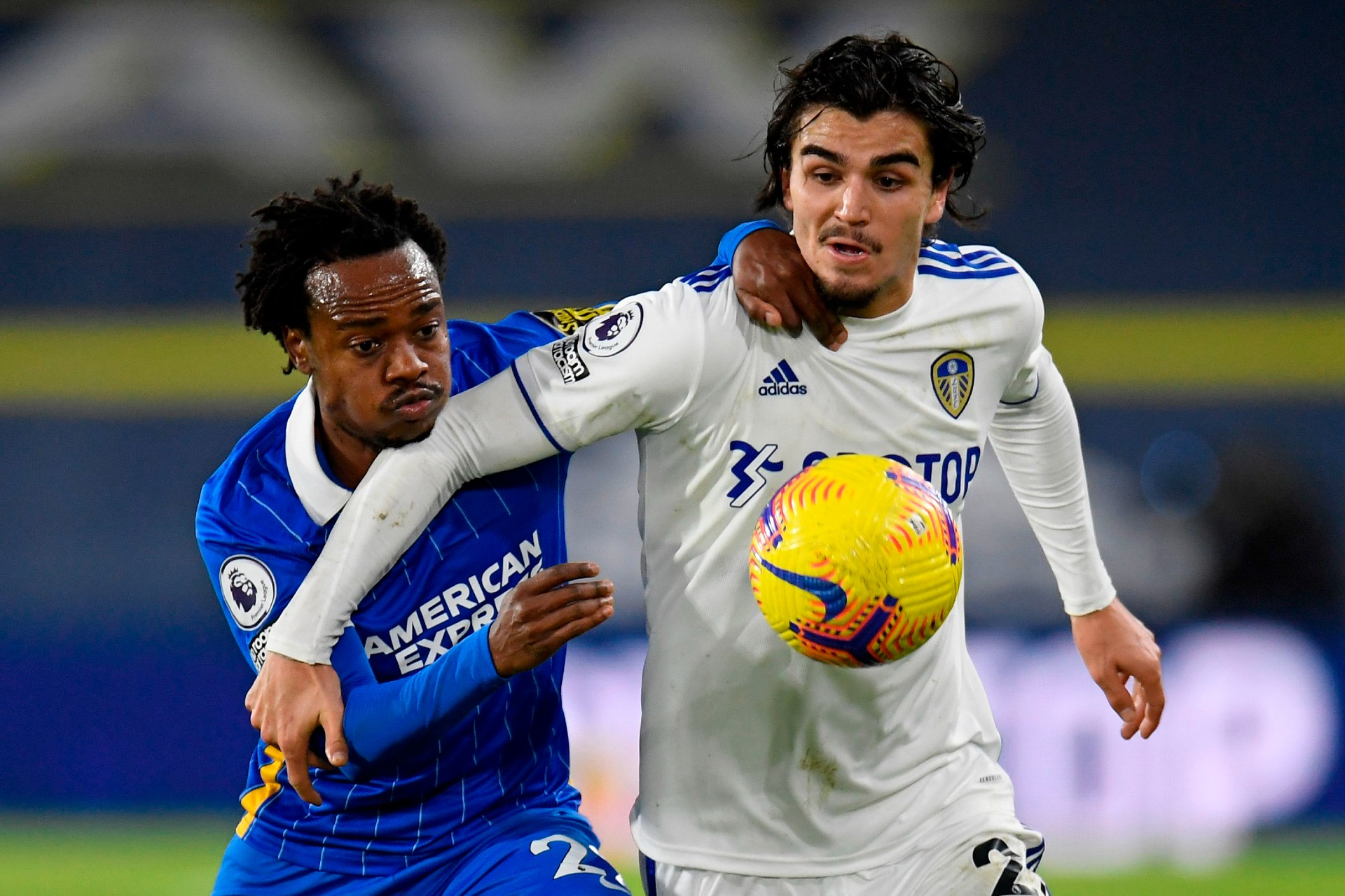 Tau helps Brighton & Hove Albion end nine-game Premier League winless streak