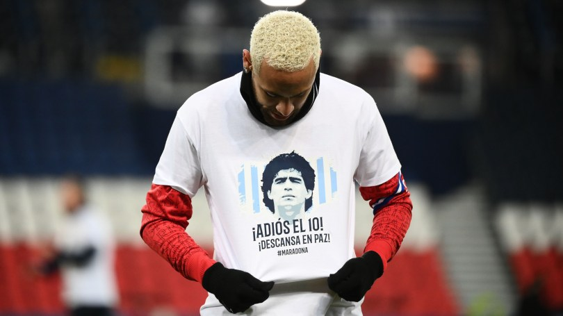 'I'll never forget his gesture' – Neymar opens up on meeting Maradona as a teenager