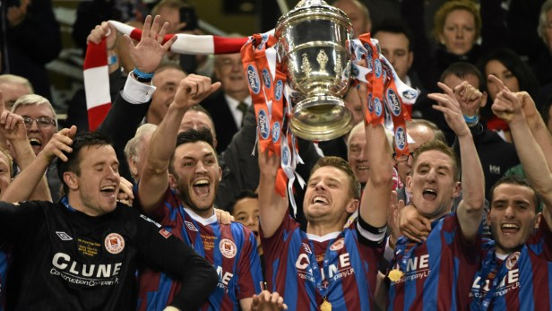 Gallery: St Patrick's Athletic lift FAI Ford Cup | Goal.com