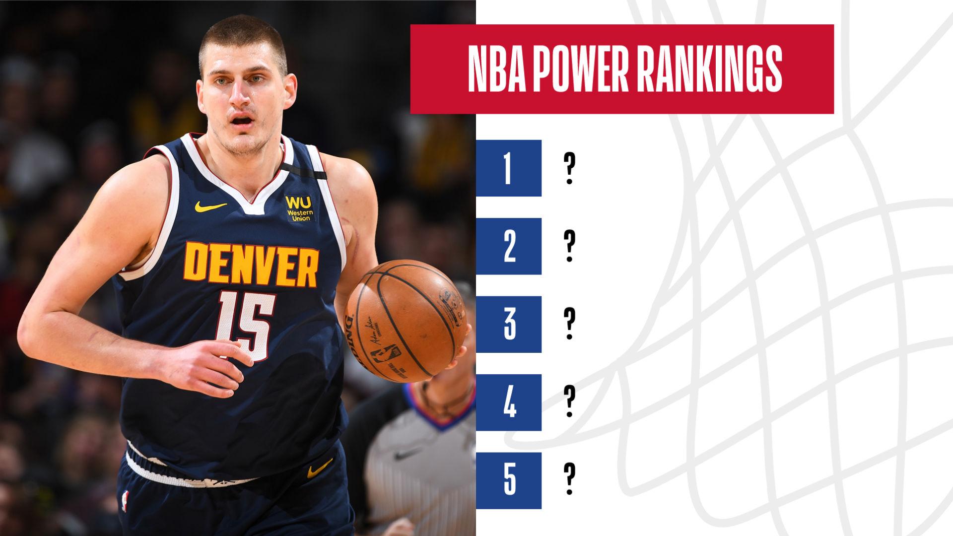 Nba Power Rankings Toronto Raptors Denver Nuggets