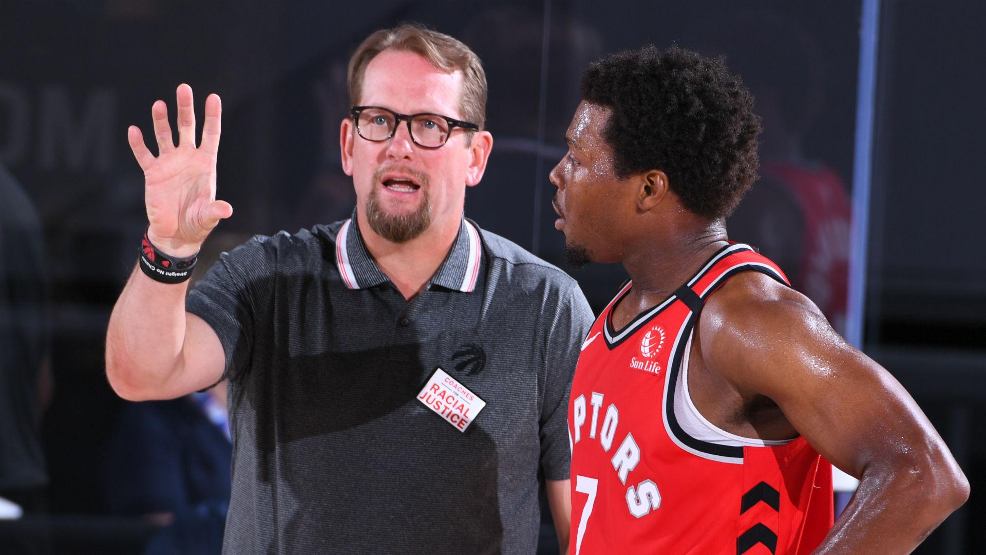 Nick Nurse Of The Toronto Raptors Named 2019 20 Nba Coach
