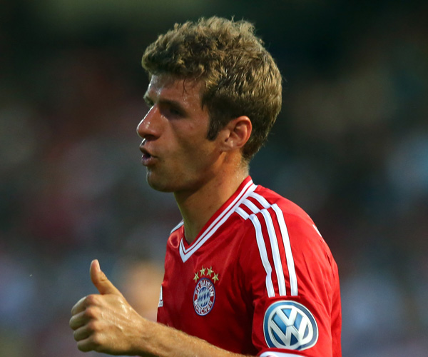 Manchester United Target Muller Pens Bayern Contract