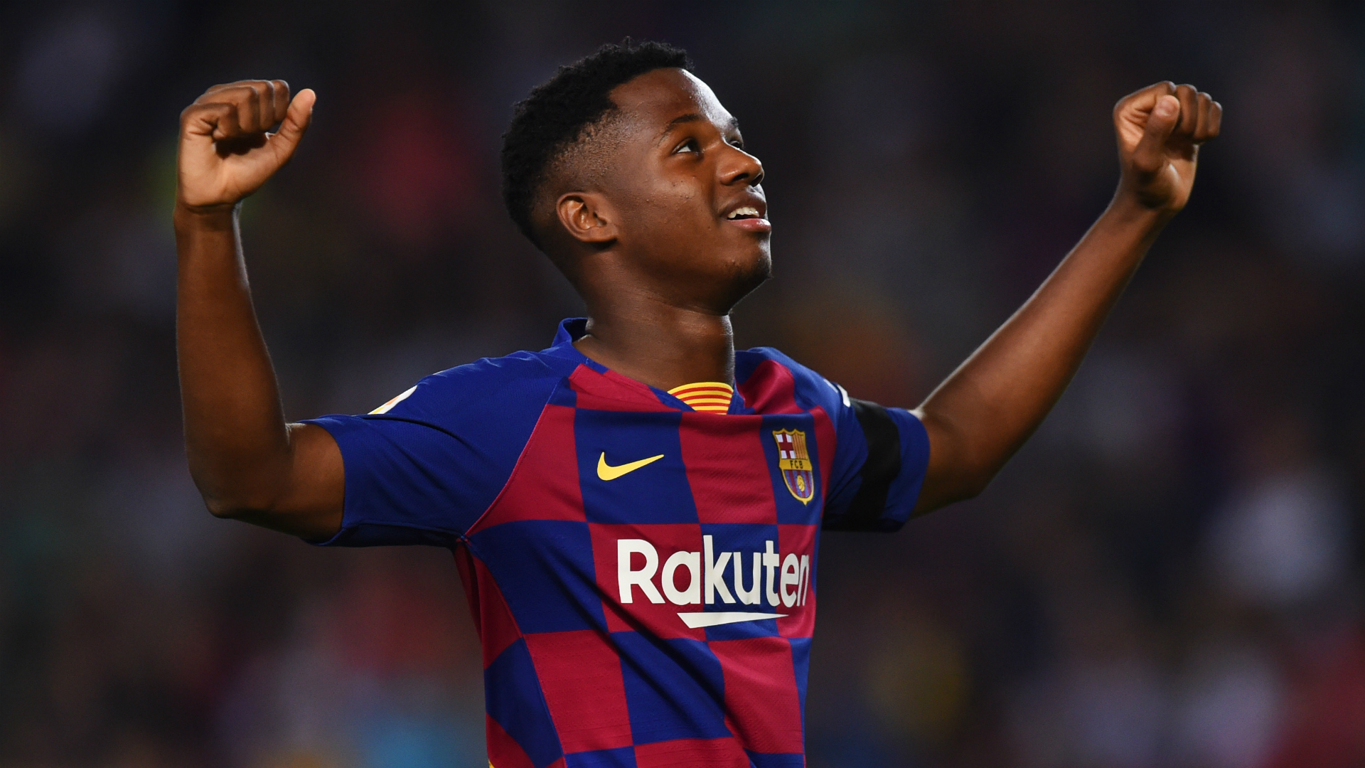 Ansu Fati Scores And Assists Within Seven Minutes Of Full Barcelona Debut Sporting News Australia