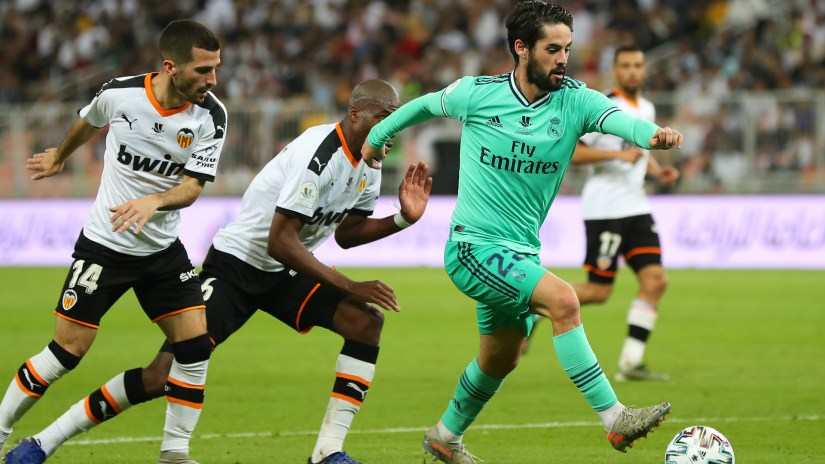 Valencia v Real Madrid Match Report, 08/01/2020, Super Cup 1