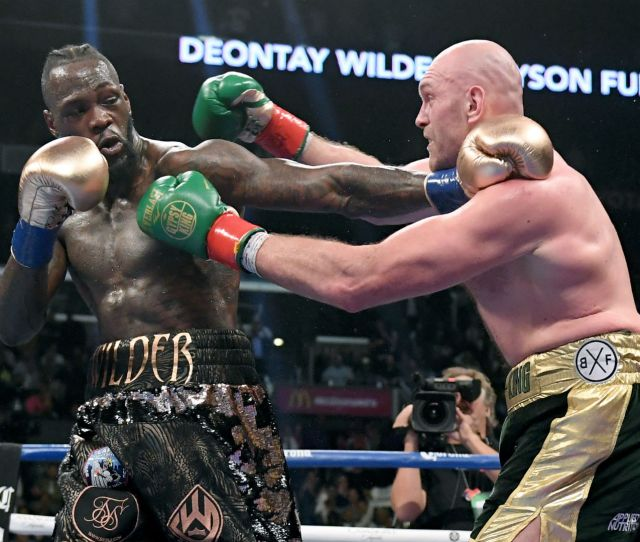 Tyson Fury Vs Deontay Wilder  When And Where Is Wilder Fury