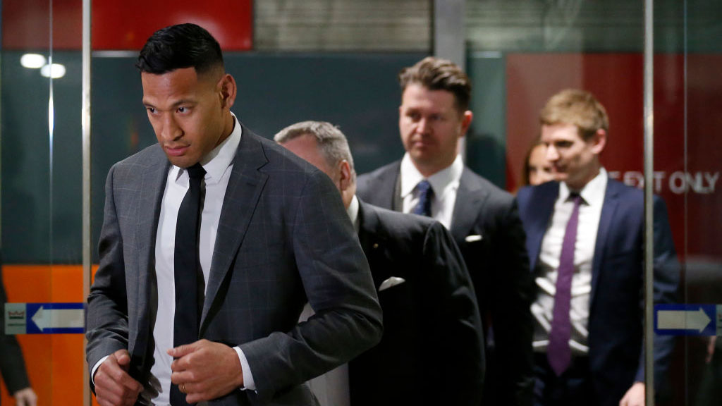 Israel Folau Rugby Australia Says Never Say Never But