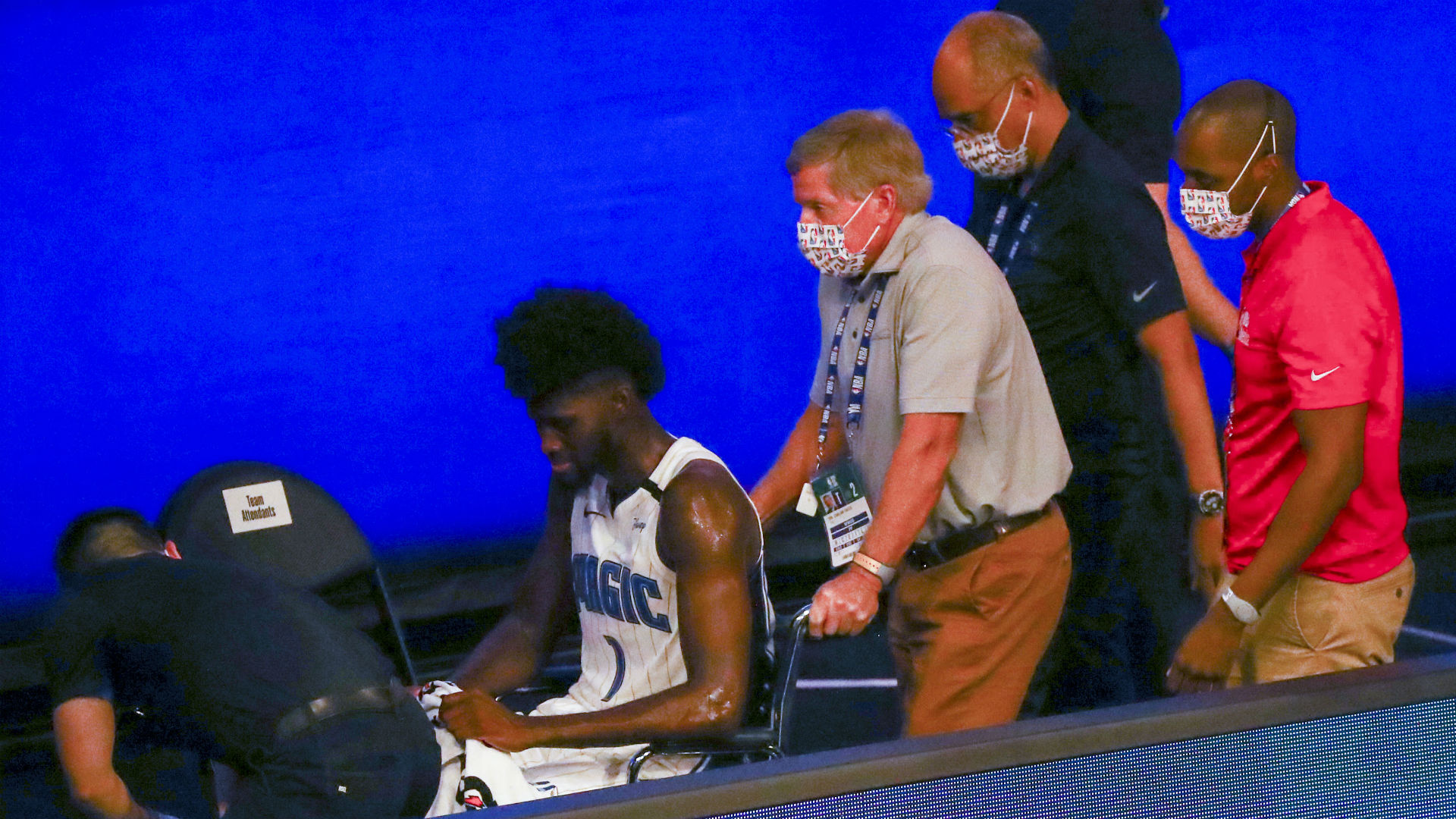 Nba Players Show Support For Jonathan Isaac After Magic