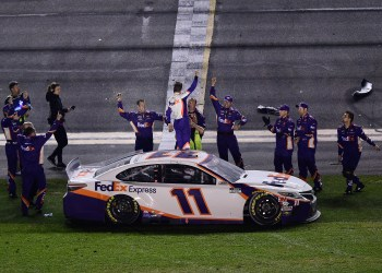 Daytona 500 outcomes: Denny Hamlin wins for second-straight year after scary Ryan Newman crash on final lap