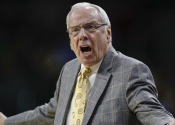 Roy Williams apologizes for F-bomb during intense postgame news conference