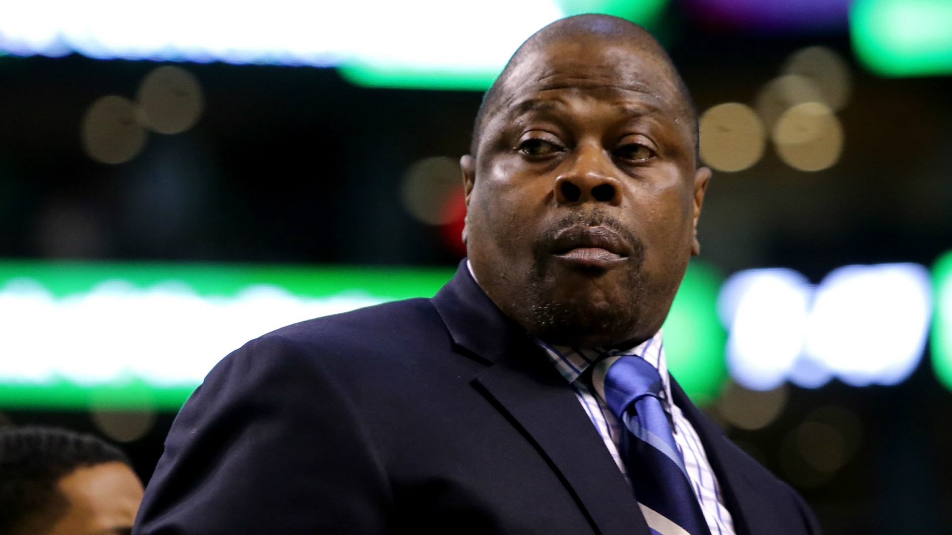 Georgetown coach Patrick Ewing discloses positive COVID-19 test, says he'll be 'fine'