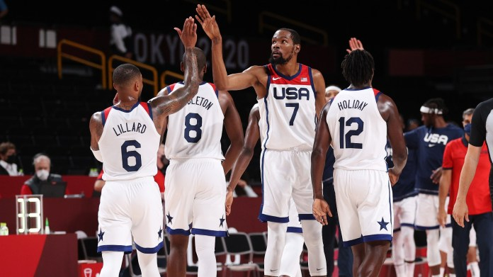 Kevin Durant has to carry Team USA's flawed team for the fourth consecutive year Olympic gold medal