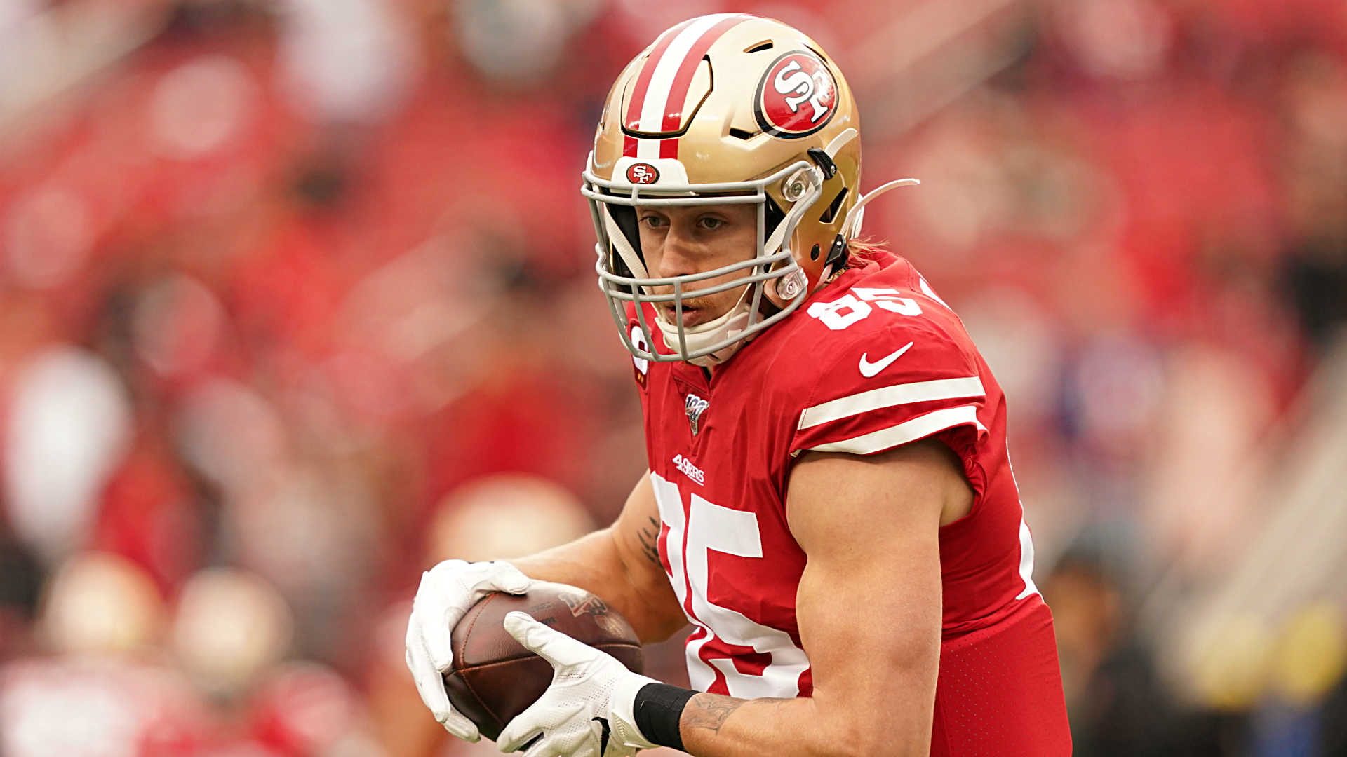 George Kittle doesn't want a tight end contract from the 49ers; he wants 'a George Kittle deal'