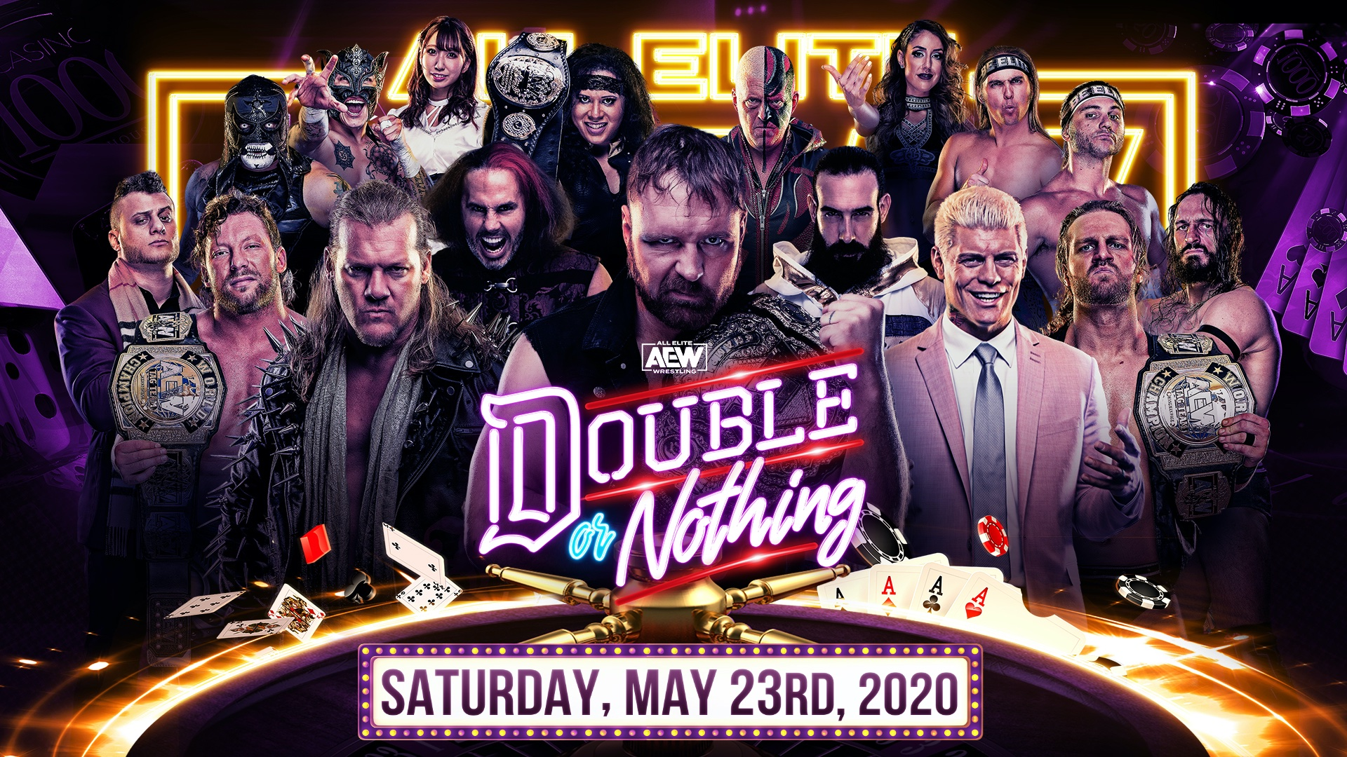 AEW Double or Nothing date, start time, matches, PPV cost, predictions