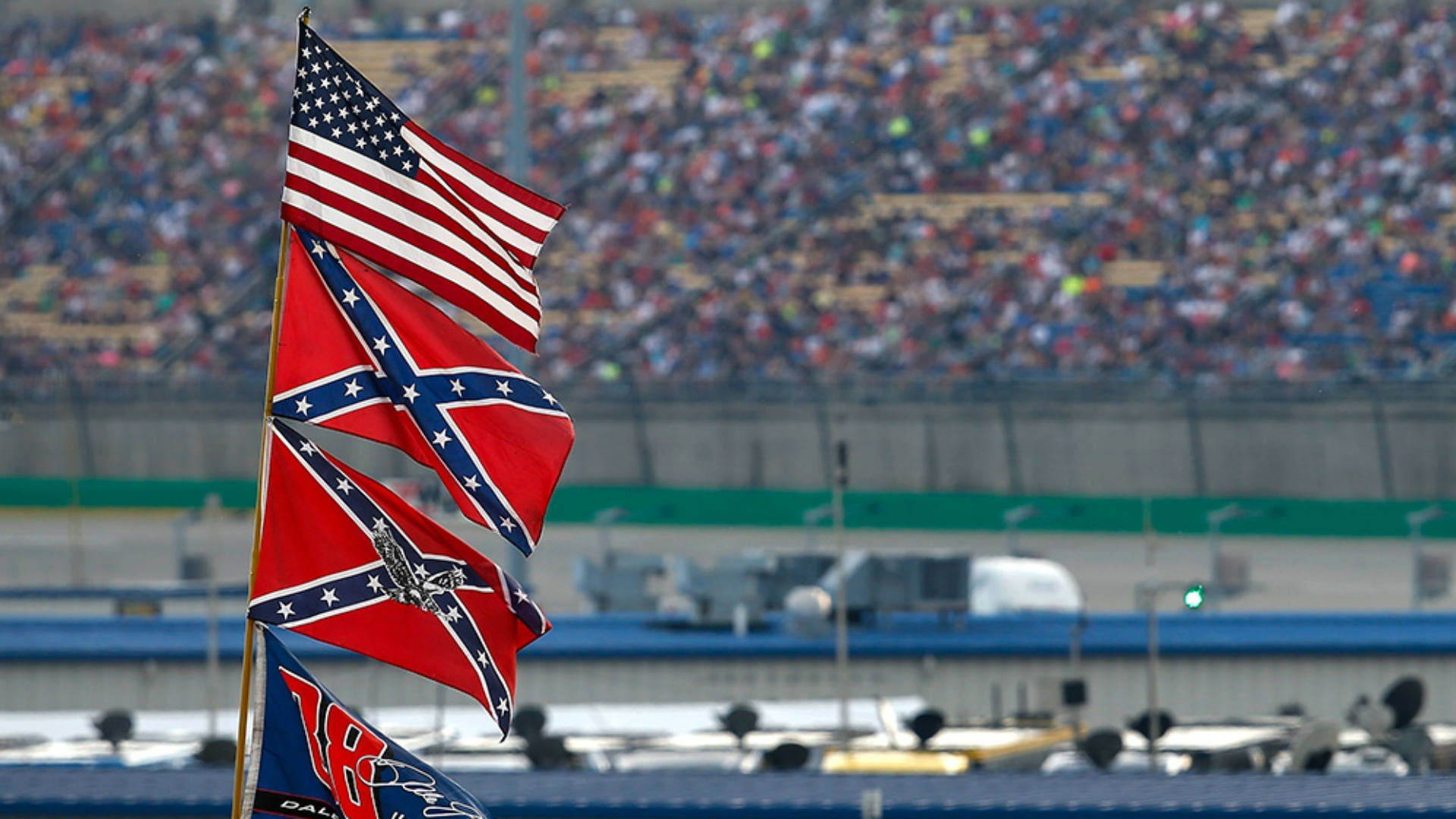 NASCAR fans react to Confederate flag ban with anger, relief and a bit of humor