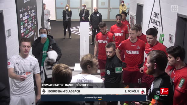 video bundesliga borussia m gladbach 1 fc koln dazn highlights