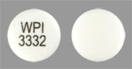 WPI 3332 Pill - bupropion 300 mg