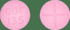 Cor 135 Pill - amphetamine/dextroamphetamine 20 mg