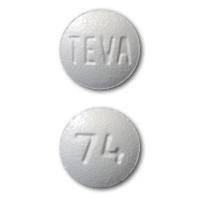TEVA 74 Pill - zolpidem 10 mg